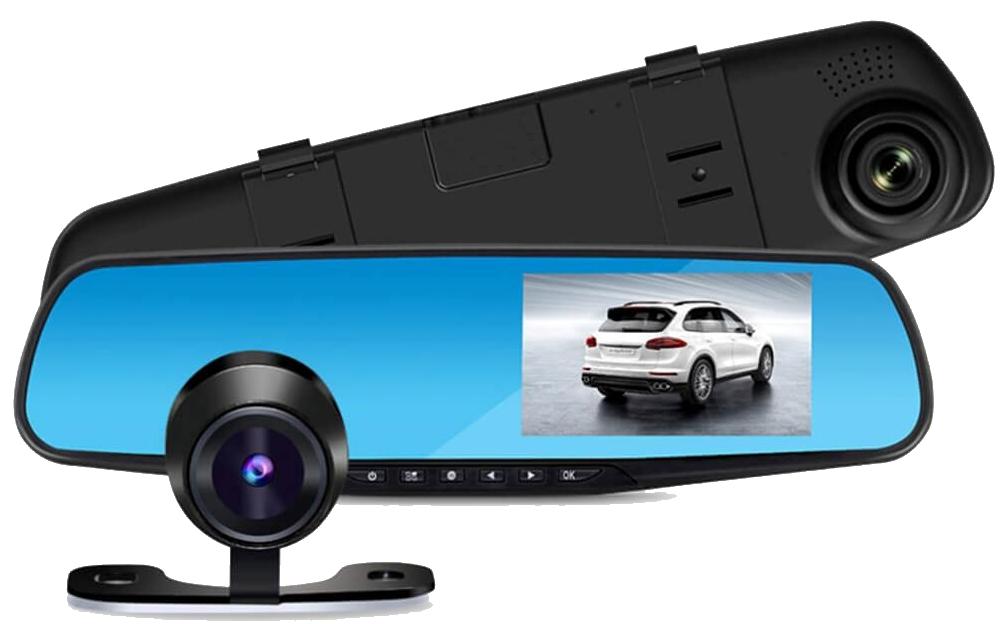 Відеореєстратор дзеркало 1388EH на 2 камери,дзеркало заднього виду з відео-реєстратор DVR