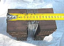 Скребок элеватора транспортера комбайна ЕНИСЕЙ 150х75, фото 3