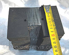 Гумовий Скребок 150х100 транспортера елеватора комбайна ПОЛІССІ-812