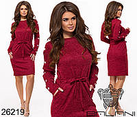 Трикотажное женское платье размеры: 42,44,46,48