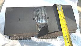 Гумовий Скребок 250х100 елеватора ЗМ-60