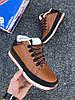 Мужские зимние кроссовки New Balance 754 'Brown/Black/White' (в стиле Нью Баланс) с мехом, фото 3