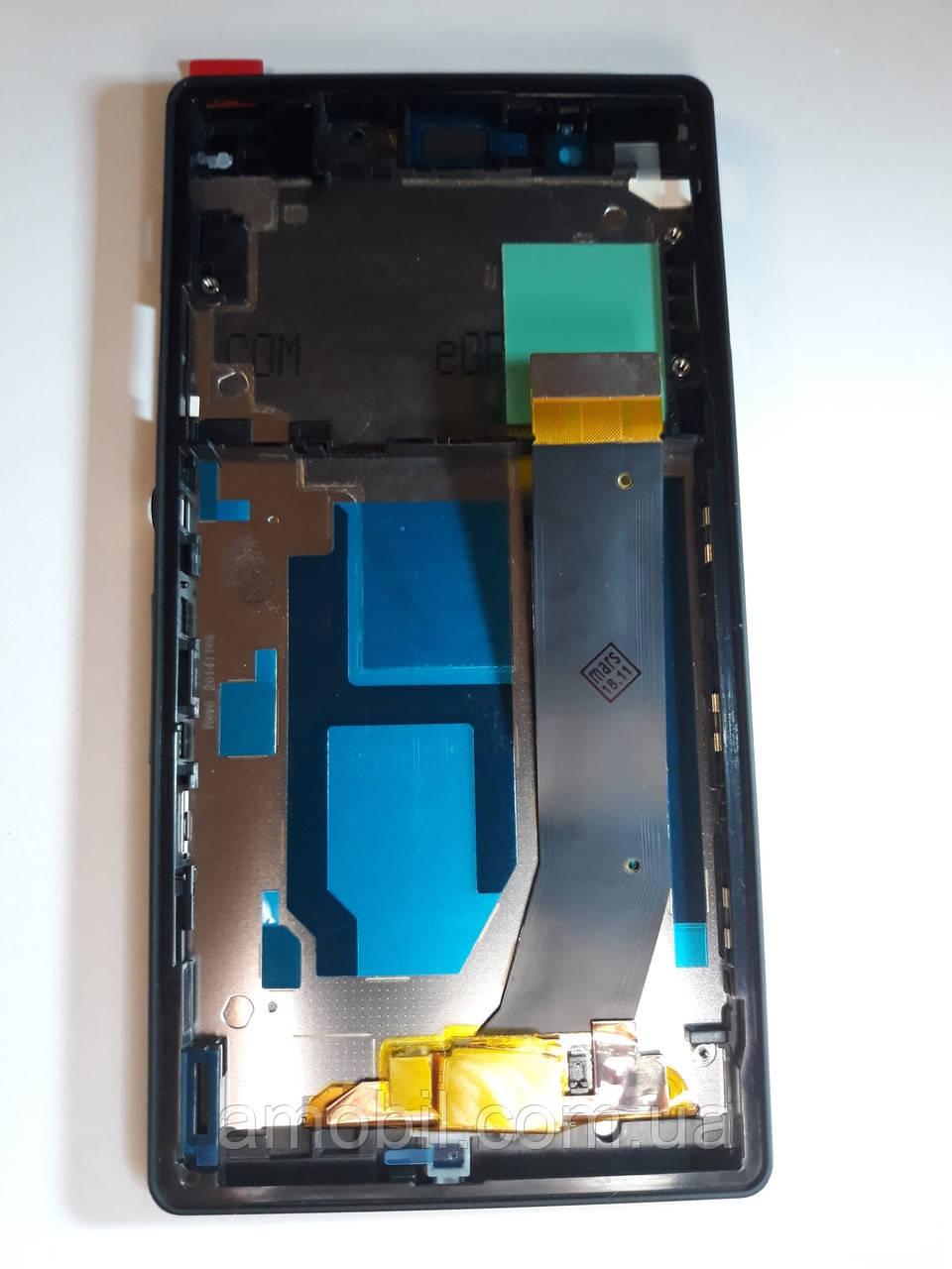 Дисплей + Сенсор с рамкой Sony Xperia Z C6602  L36H / C6603 L36i / C6906 / C6606 L36A black orig