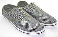 Туфли / слипоны мужские текстильные. Модель: 136-411 lg