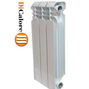 Радиатор алюминиевый отопления (батарея) 500x80 Dicalore Prime (боковое подключение), фото 2