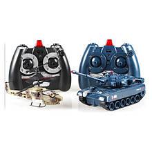 Вертолет и танк на радиоуправлении