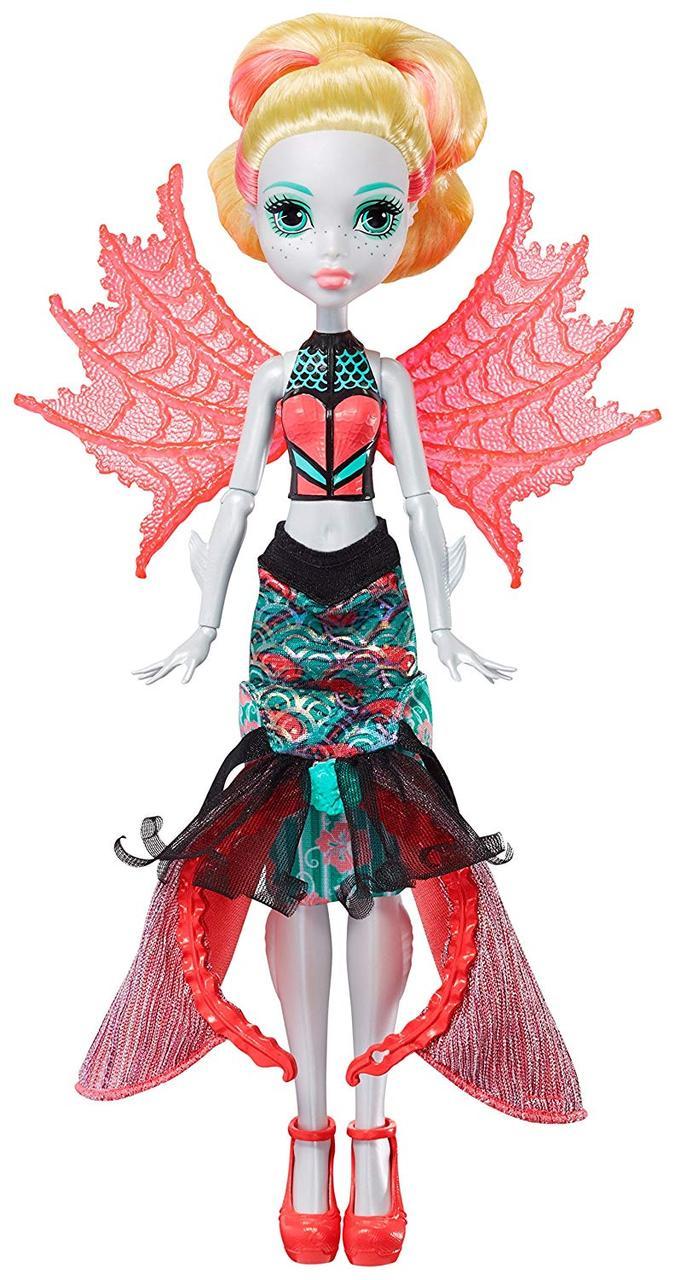 Кукла Монстер Хай Лагуна Блю Монстро-Трансформация Monster High Lagoona Blue Transformation