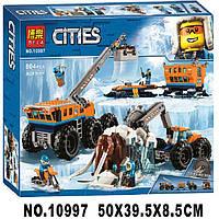 Конструктор Bela 10997 City Арктическая экспедиция:Передвижная арктическая база 804 дет, фото 1