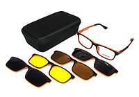 Очки солнцезащитные со сменными линзами Moretti