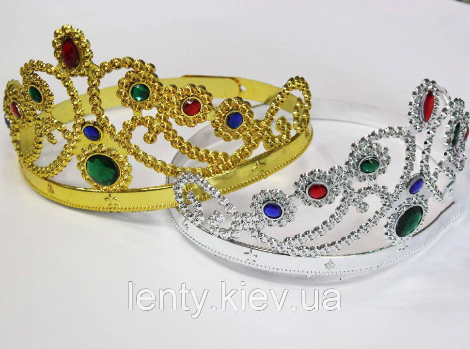 Корона для принцессы пластиковая -