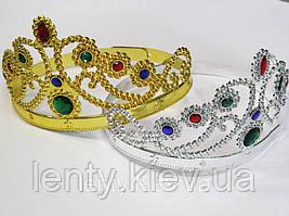 Корона для принцеси пластикова -