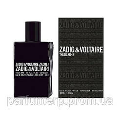 Zadig & Voltaire This Is Him (100мл), Мужская Туалетная вода  - Оригинал!