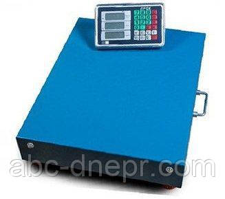 Весы товарные беспроводные WIFI 600 кг 500х600 мм