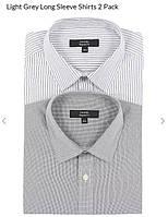 Рубашка Мужская (2 шт, комплект). Размер 17 (английский), фото 1