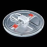 Светильник светодиодный Biom СL-R9W-5/2 NEW 9Вт круглый 5000К, фото 3