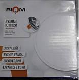 Светильник светодиодный Biom СL-R9W-5/2 NEW 9Вт круглый 5000К, фото 6