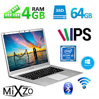 "Ноутбук MiXzo RX 1506 15.6"" 4GB RAM 64GB SSD"