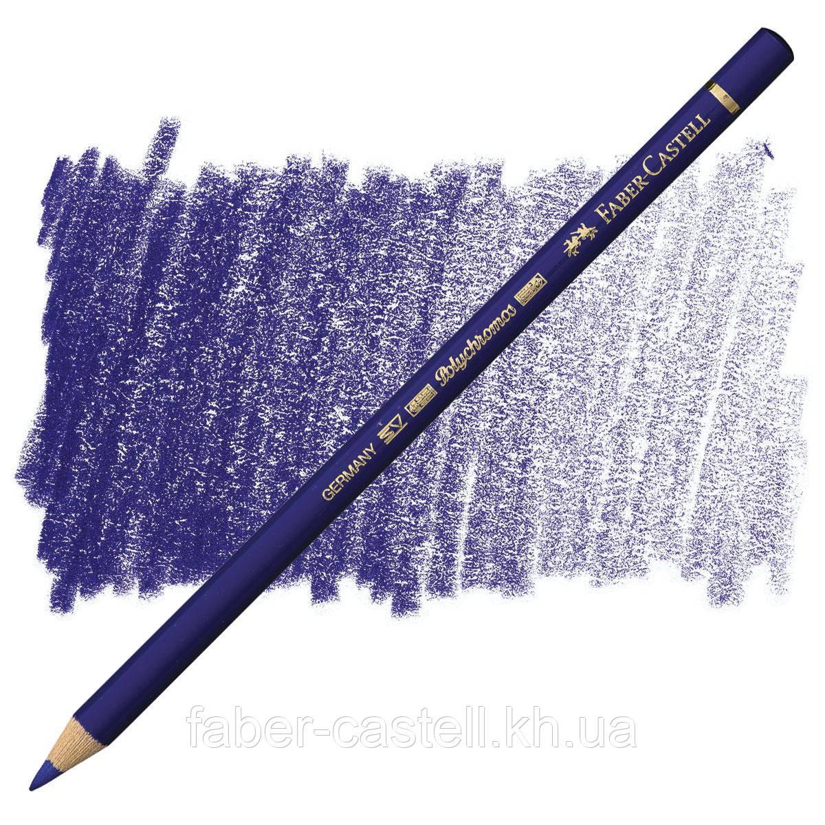 Олівець кольоровий Faber-Castell POLYCHROMOS фаянсовий синій №141 (Delft Blue), 110141