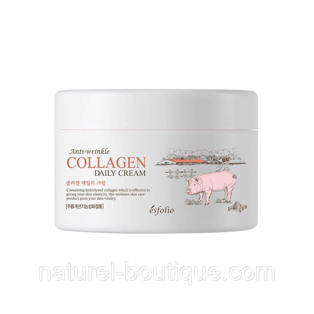 Крем для обличчя Esfolio Collagen Daily Cream з колагеном