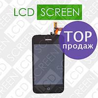 Модуль для iPhone 3GS, черный, дисплей + тачскрин, WWW.LCDSHOP.NET