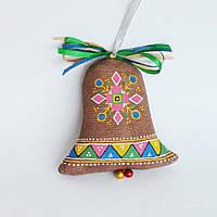 Колокольчик. Этно. Украинский сувенир