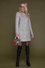 Новинка! женское демисезонное короткое пальто цвета карри , размер:40, фото 3