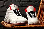 Мужские кроссовки Nike Air Jordan Retro 13 XIII History Of Fight (белые) , фото 6
