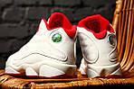 Мужские кроссовки Nike Air Jordan Retro 13 XIII History Of Fight (белые) , фото 5