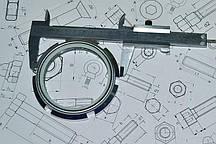 Гайка шлицевая М8 ГОСТ 11871-88 оцинкованная