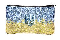 Косметичка с принтом Герб Украины