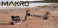 Металлоискатель MAKRO Racer Pro металлодетектор полная комплектация, фото 1