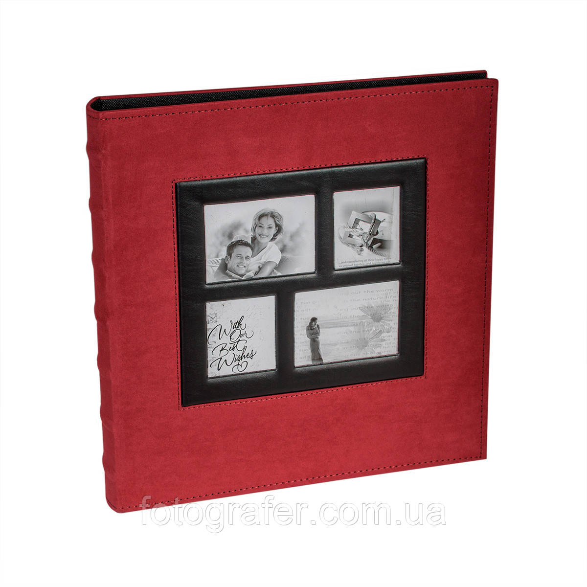 Фотоальбом 10*15/400 Gallery Red ( на складе )