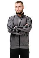 Мужской спортивный костюм черный-серый, фото 1