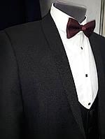Мужской смокинг West- fashion модель А 100 черный