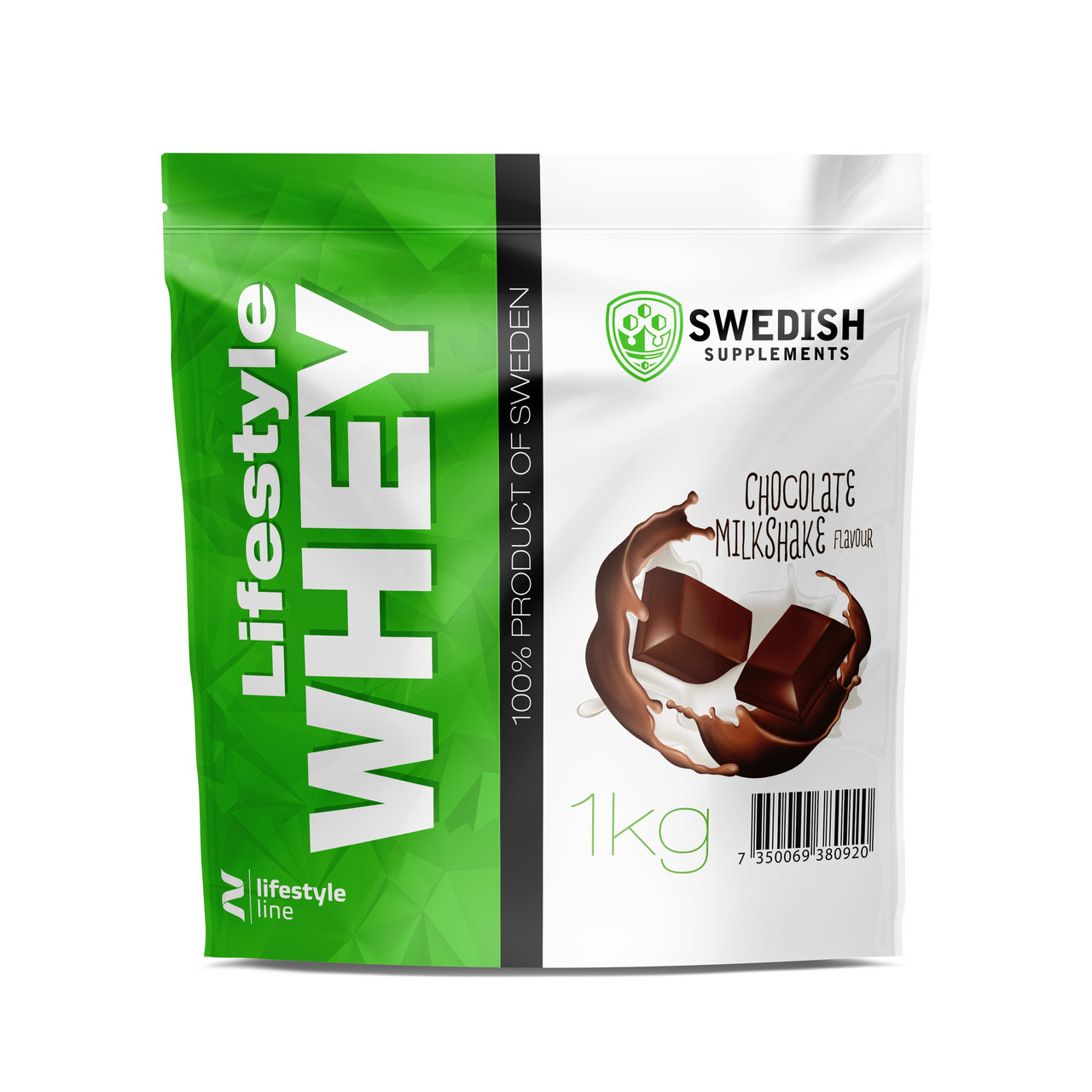 Swedish supplements - LS Whey Protein - 1kg Chocolate Peanut butter