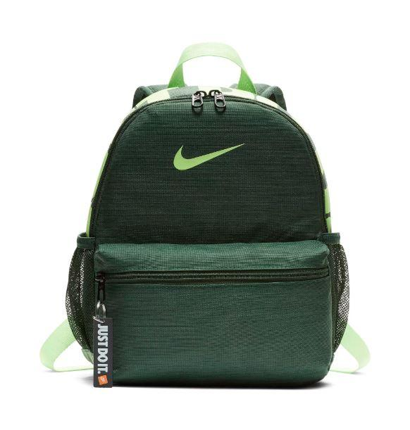 Рюкзак детский Nike Brasilia Just Do It Kids' Backpack (Mini) BA5559-323 Зеленый (886061804876)