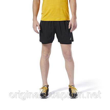8649b18946429 Спортивные шорты Reebok Run Essentials 2 в 1 DU4307 - 2019, фото 2