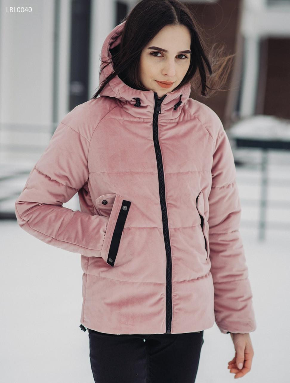Женская зимняя куртка Staff - Velours ros Art. LBL0040 (Размеры - S ... a4df58440d13e