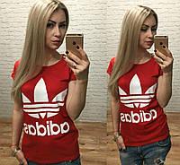 Женская футболка Adidas Турция р. S,M,L оптом