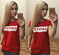 Женская футболка Levis Турция р. S,M,L оптом