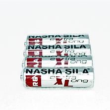"""Батарейки солевые """"Наша сила"""" оригинал АА пальчиковые, R 06, упаковка — 60 шт, фото 3"""