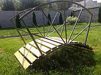 Мостик садовый для ландшафтного оформления Солнышко