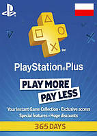 PlayStation Plus (PSN Plus) - 365 Дней (Польша)