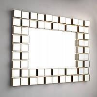 Настенное прямоугольное зеркало 73 см х 55 см х 3,5 см