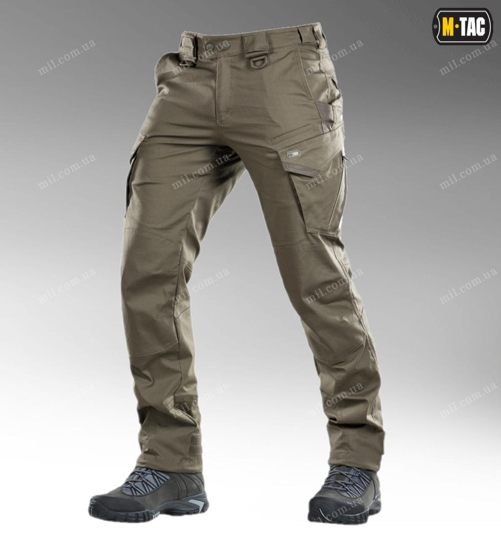 Тактические брюки / штаны M-TAC AGGRESSOR GEN.II FLEX (dark olive)