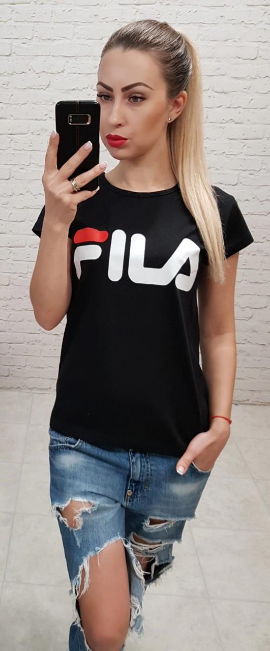 Женская футболка Fila Турция р. S,M,L оптом