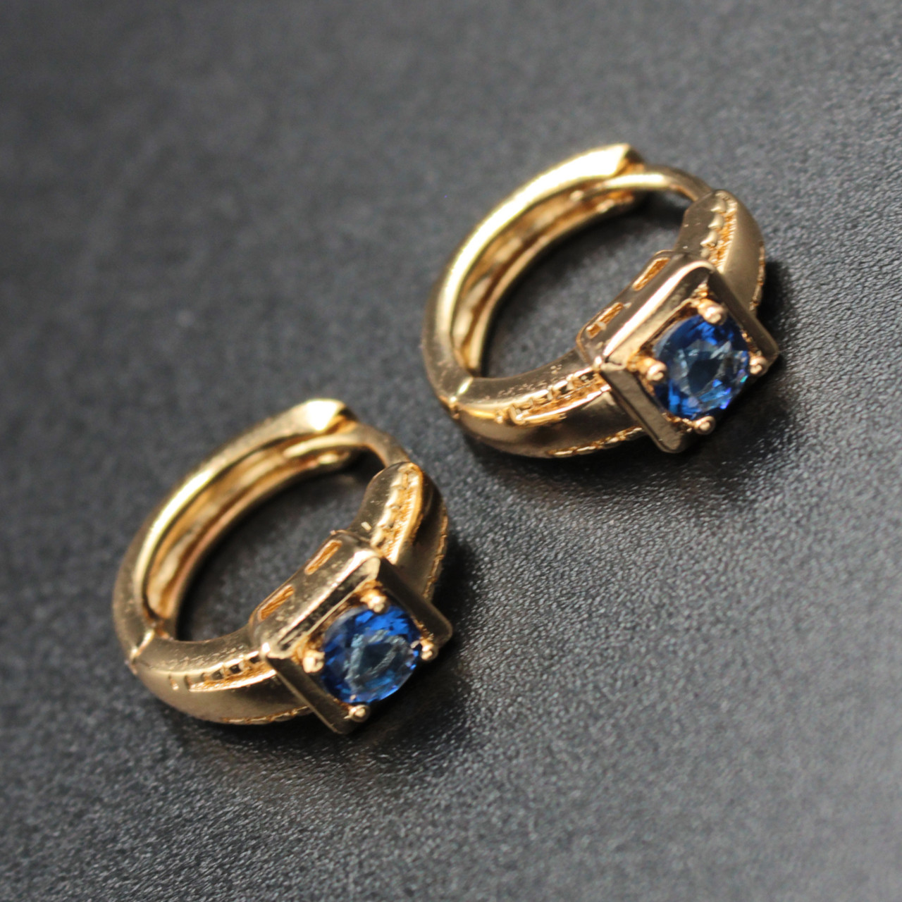 "Серьги женские ""Отилия"" Xuping Jewelry (позолота)."