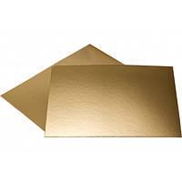 Подложка прямоугольная зол/сереб 30х40 см