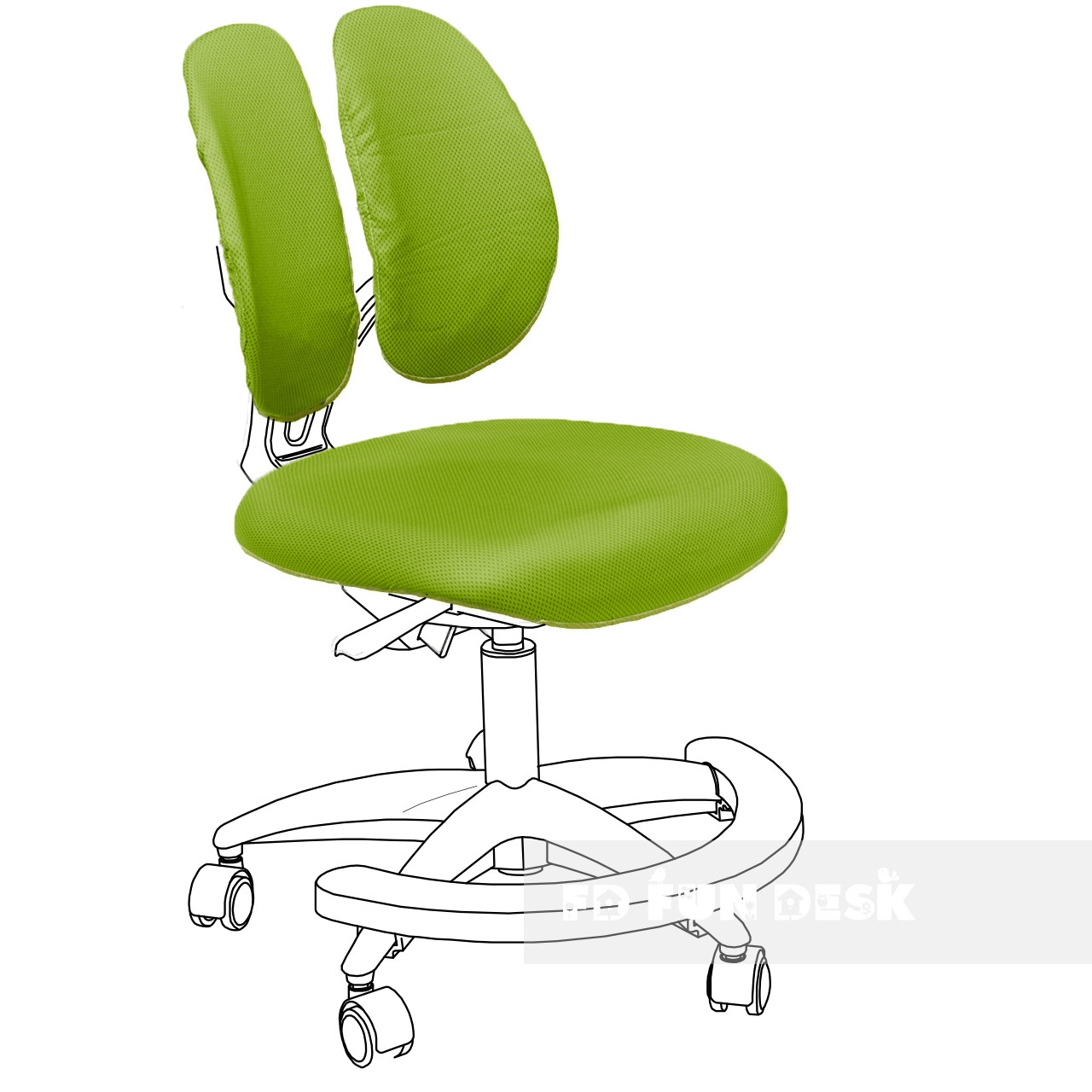 Чехол для кресла Primo green