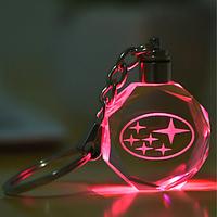 Брелок c подсветкой Subaru